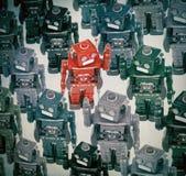Robotermenge Lizenzfreies Stockfoto
