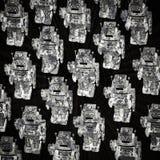 Roboternachrichtenkonzept Lizenzfreies Stockfoto
