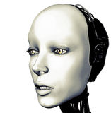 Roboterportrait Stockfotos