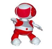 Roboterspielzeug lokalisiert Stockbild