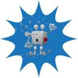 Robotertropfenmuttern lizenzfreie abbildung