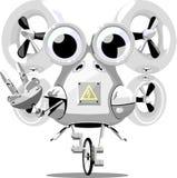 Roboterwellenartig bewegen Lizenzfreies Stockbild