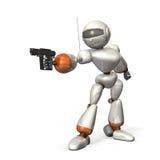 Roboterziel Stockfoto