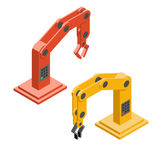 Robothänder Industriella Robotic armar Royaltyfri Bild