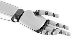 Robothanden poserar arkivfoton