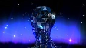 Robothoofd royalty-vrije illustratie