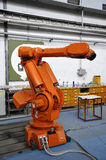 robotic arm Royaltyfria Bilder