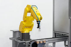 Robotic arm Stock Image