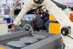 Robotic arm Arkivfoton
