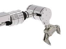 Robotic arm Fotografering för Bildbyråer