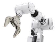 Robotic arm Arkivbilder