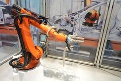 Robotic arm Royaltyfri Foto