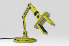 Robotic arm. A robot arm for precise, faster work Royalty Free Stock Images