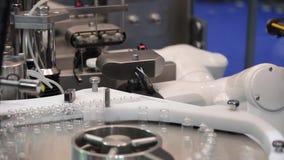 Robotic asepting blanda system lager videofilmer