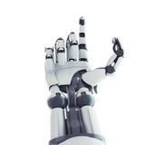 Robotic beväpna Royaltyfri Bild