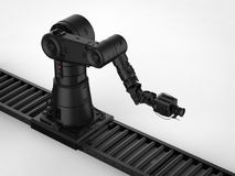 Robotic camera with dolly Stock Image