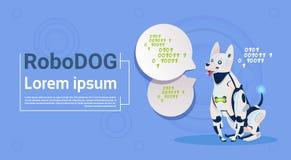 Robotic Dog Cute Domestic Animal Modern Robot Pet Artificial Intelligence Technology Royalty Free Stock Image