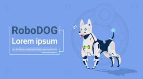 Robotic Dog Cute Domestic Animal Modern Robot Pet Artificial Intelligence Technology Stock Photos