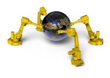 Robotic Earth Stock Photos