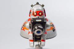 Robotic exploration. And his camera Royalty Free Stock Photography