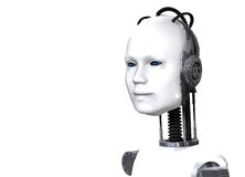 Robotic Female Stock Photo