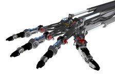 robotic hand Arkivbilder