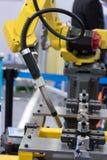 Robotic hand Fotografering för Bildbyråer