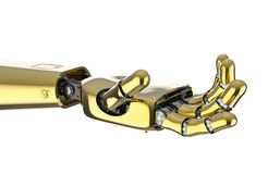 Free Robotic Hand Isolated Stock Photo - 160960450