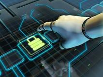 Security lock vector illustration