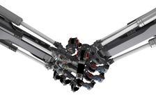 Robotic Handshake Royalty Free Stock Image