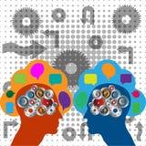 Robotic intelligence Stock Photo