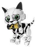 Robotic Kitten, Battery Carry Stock Photography