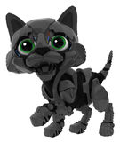 Robotic Kitten, Black Stock Photos