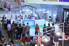 Robotic konkurrens Royaltyfria Foton