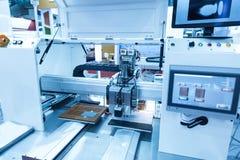Robotic machine vision system stock images