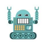 Robotic operator machine technology Stock Images