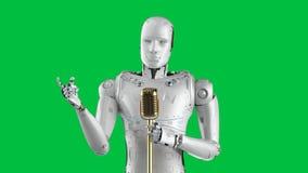 Robotic public speaker