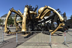Robotic Spider in Nantes, France Royalty Free Stock Photo