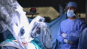 Robotic Surgery. Medical robot.
