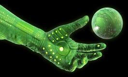 Robotic Technology Hand Royalty Free Stock Photo