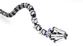 Robotic Tentacle Arm Royalty Free Stock Photo