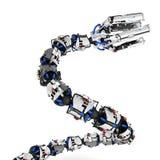 Robotic Tentacle Arm, Rising Stock Image