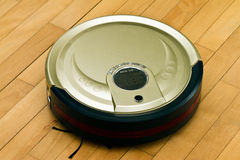Robotic Vacuum Cleaner Royalty Free Stock Image