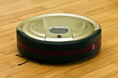 Robotic Vacuum Cleaner Royalty Free Stock Photo