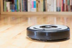 Robotic vacuum cleaner closeup Stock Image