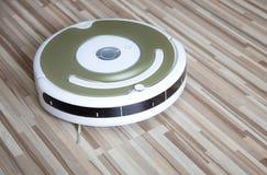 Robotic vacuum cleaner Stock Image