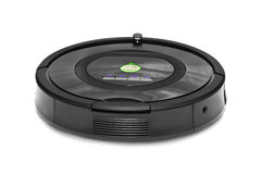 Robotic vacuum cleaner Stock Photography