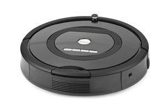 Robotic vacuum cleaner Royalty Free Stock Photos
