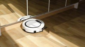 Robotic vacuum cleaner Stock Images