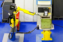 Robotic welder Stock Image